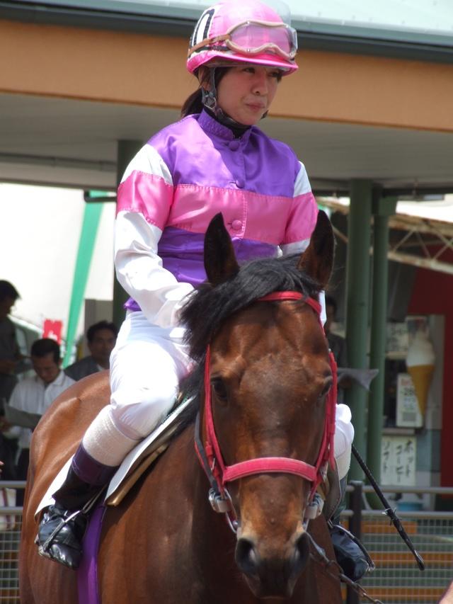 名古屋3歳牝馬 ユアサンシャイン&宮下瞳騎手
